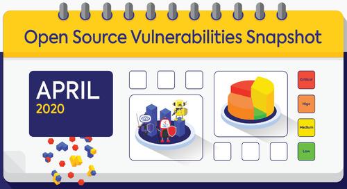 April Open Source Security Vulnerabilities Snapshot