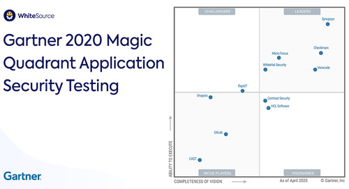 Gartner: Magic Quadrant AST 2020