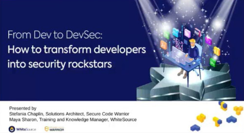 From Dev to DevSec: How to transform developers into security rockstars