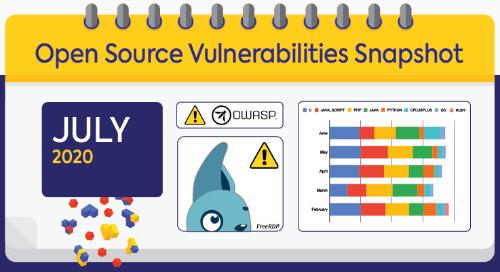 July 2020 Open Source Security Vulnerabilities Snapshot