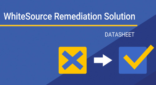 WhiteSource Remediation Solution