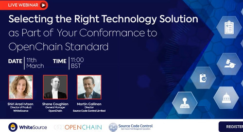 Selecting Technology Solution To Comply With OpenChain ISO Standard