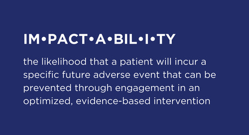 The Influence of Impactability on Patients, Providers and Population Health Results: Part 1