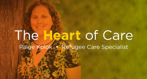 The Heart of Care: Passion and Compassion Drive Creative Solution for Refugee