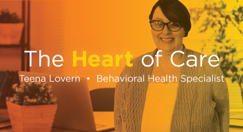 The Heart of Care: Addressing Behavioral Health, Immediate Needs Go Hand in Hand During Social Isolation