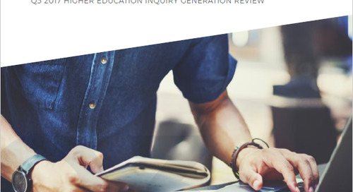 DMS Publishes Quarterly Higher Education Inquiry Generation Review