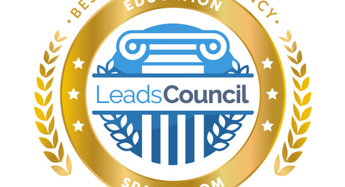 Sparkroom Named Best Agency for Education