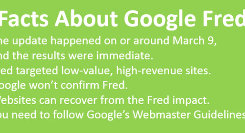 The Google Fred Update: 5 Crucial Facts to Know