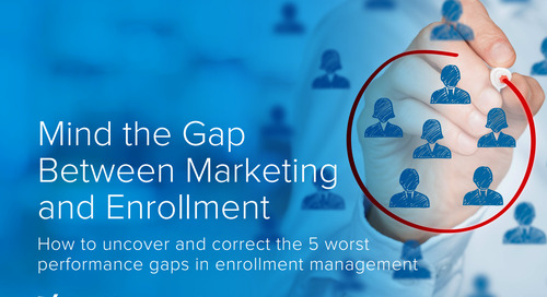 Mind the Gap Between Marketing and Enrollment
