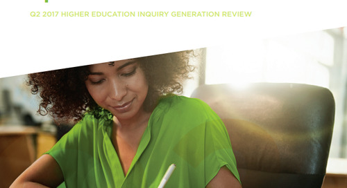 Q2 2017 Higher Education Inquiry Generation Review