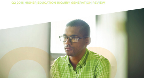 Q2 2016 Higher Education Inquiry Generation Review