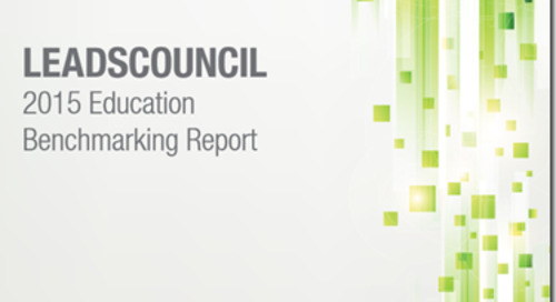 LeadsCouncil 2015 Education Benchmarking Report