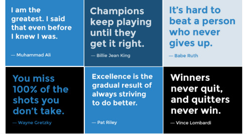 2018 Resolutions ― Based on the Authors of Our Most Popular Sports Quotes