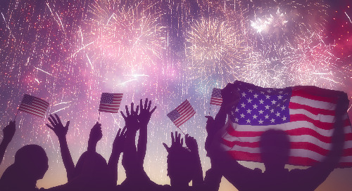 Red, White and Blue: 7 Stellar Fourth of July Marketing Concepts