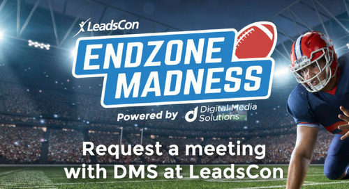 "Digital Media Solutions to Get in the Game with ""EndZone Madness"" Activation as a Gold Sponsor of 2018 LeadsCon Connect to Convert"