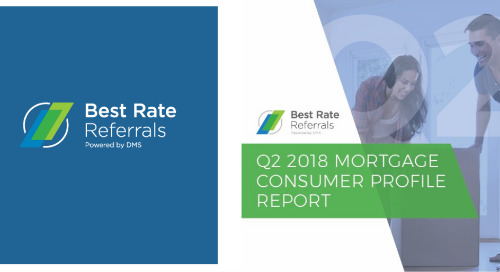 New Data Outlines Consumer Attitude Shift for the Purpose of Mortgage Refinance Loan from Rate Reduction to Pulling Out Cash