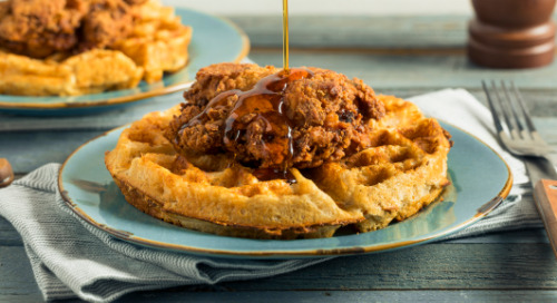 KFC Chicken & Waffles Commercial Highlights Unlikely Partnerships & 80s Dance Moves