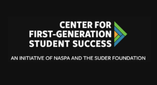 DMS Insights Featured On The Center For First-Generation Student Success News Page