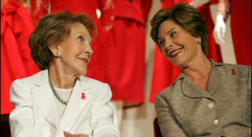 The Marketing of First Ladies' Charitable Endeavors Evolves with the Changes in Marketing and the Goals of the Woman in Charge