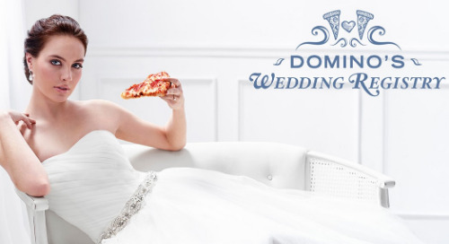 I Do… Want Pizza On Our Wedding Night: Dominos Wedding Registry
