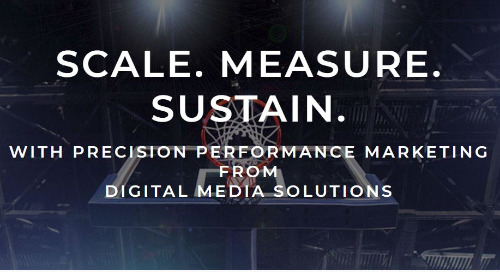 """Digital Media Solutions To Bring Down The House With Return Of """"Hoops Madness"""" As Platinum Sponsor Of 2019 LeadsCon Las Vegas"""