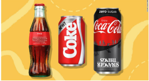 Stranger Things X New Coke Targets The Streaming Generation