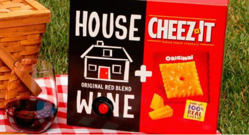 Cheez-It X Boxed Wine: A Partnership The Internet Was Begging For