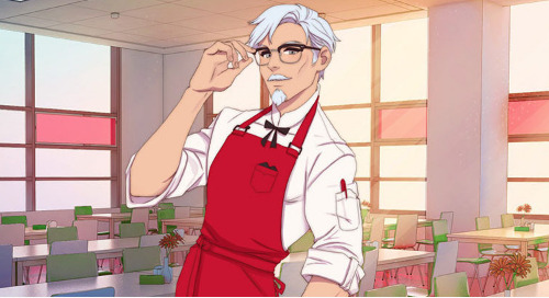 Colonel Sanders Gets Hunky In A New KFC Game
