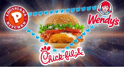The Chicken Sandwich Wars Heat Up On Social Media