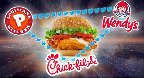 The Chicken Sandwich Wars Heat Up On Social Media