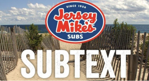 DMS Insights Content In Jersey Mike's National Newsletter