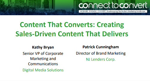 Content That Converts: Creating Sales-Driven Content That Delivers