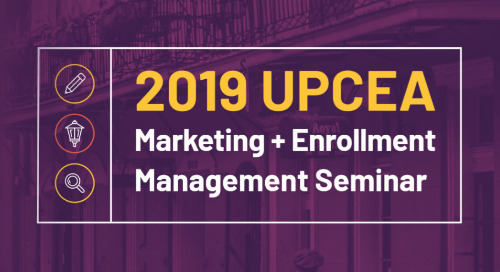 DMS Announces Sponsorship Of 2019 UPCEA Marketing And Enrollment Management Seminar