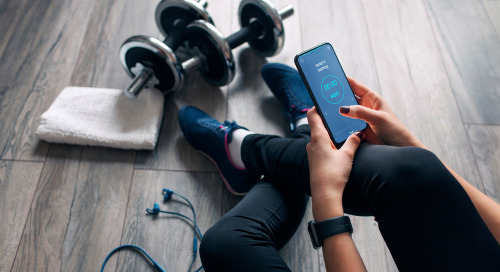 Fitness Apps Are Popular For Nutrition, Exercise And Wellness