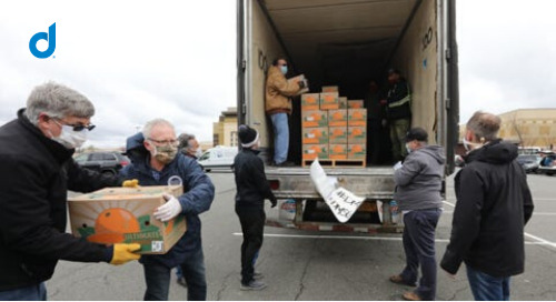 DMS Donates Food To Aid Rockland Nonprofits