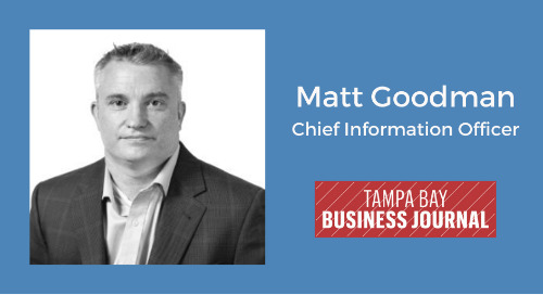 Meet Matthew Goodman, A 2018 CIO Of The Year Honoree