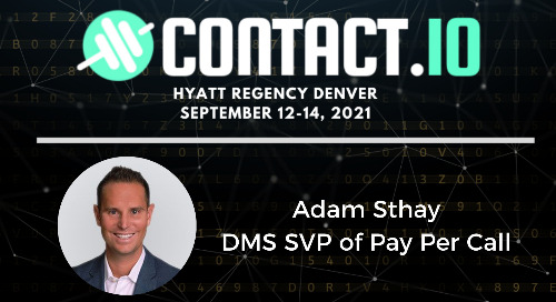 DMS Call Marketing Expert Adam Sthay To Share Insights At Contact.io Conference