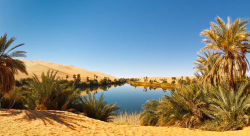 Time, Water and the Desert