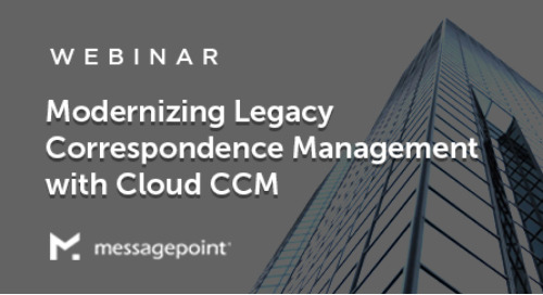Modernizing Legacy Correspondence Management with Cloud CCM