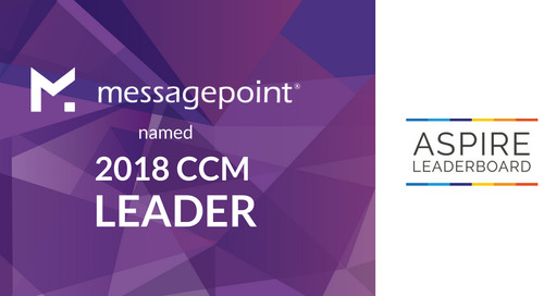 Messagepoint Ranked as Visionary Leader in 2018 Aspire Leaderboard for CCM