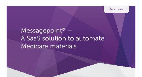 Messagepoint for Medicare Plan Materials