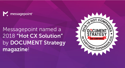 Messagepoint Named a 2018 'Hot CX Company'