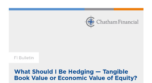 What Should I Be Hedging – Tangible Book Value or Economic Value of Equity?
