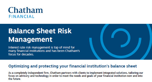 Optimizing and Protecting Financial Institution's Balance Sheet