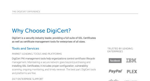 Why Choose DigiCert?