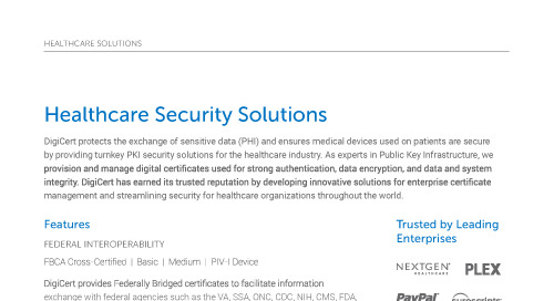 Healthcare Security Solutions