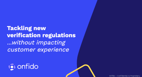 Tackling new verification regulations in gaming without impacting customer experience