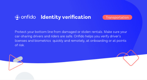 Datasheet: Onfido for Transport