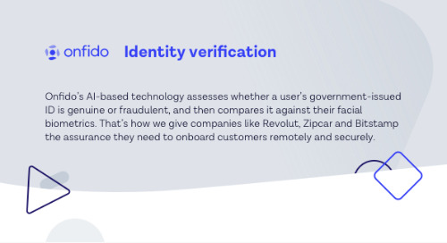 Onfido Identity Verification Datasheet