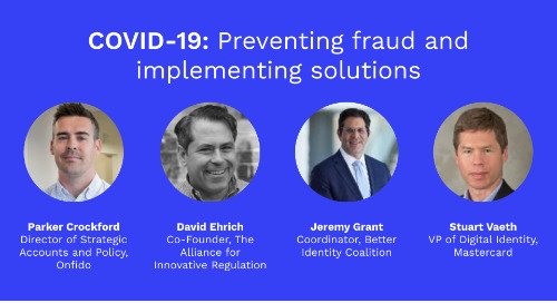 COVID-19 Stimulus Package: Preventing fraud and implementing solutions